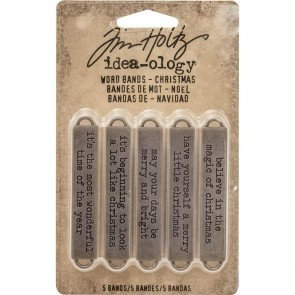 Christmas Word Band - Tim Holtz Idea-ology