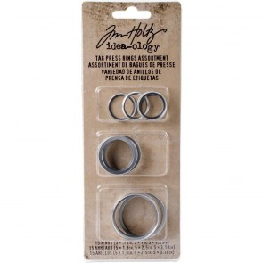 Assorted Ring per Tag Press - Idea-ology by Tim Holtz