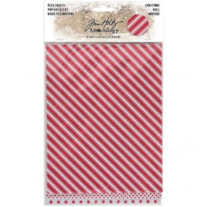 Christmas Deco Sheets - Tim Holtz Idea-ology