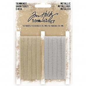Metallic Trimmings - Tim Holtz Idea-ology