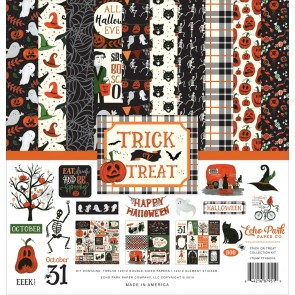 Trick or Treat Collection Kit - Blocco di carte Echo Park 30x30 cm