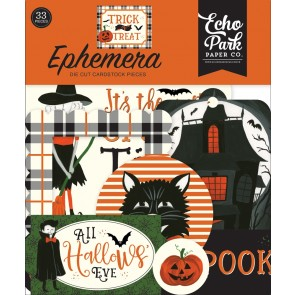 Trick or Treat Ephemera Die Cuts - Echo Park