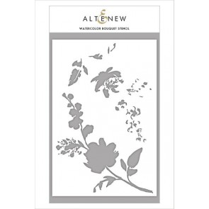 Watercolor Bouquet - Altenew Stencil