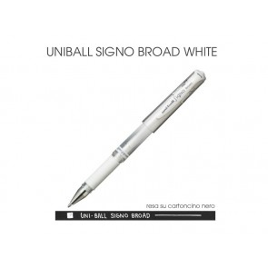 Pennarello Uniball Signo Broad - White