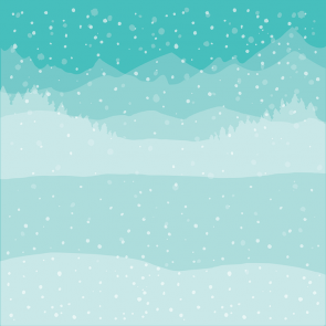 Winter Wonder Background - Set di Stencil Honey Bee