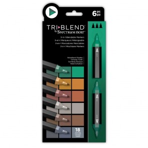 Woodland Shades - 6 Set - Spectrum Noir TriBlend