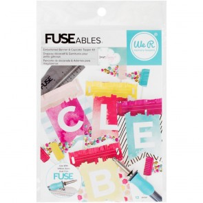 Kit Banner and Cupcake Topper - Fuseableas
