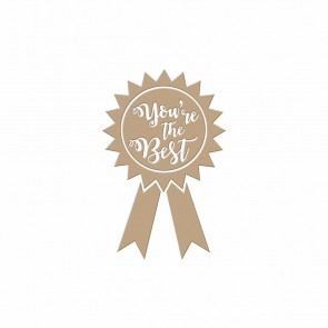 You're the Best Hot Foil Plate - Spellbinders
