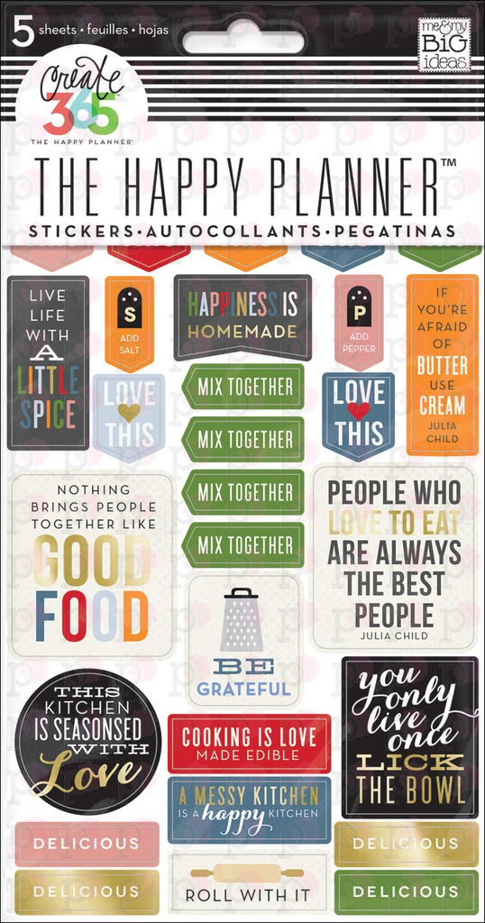 Good Food Stickers - Create 365 Happy Planner Accessories