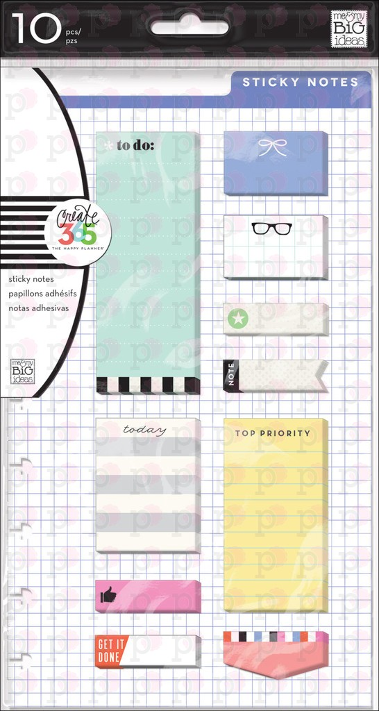 Happy Sticky Notes - Create 365 Happy Planner Accessories