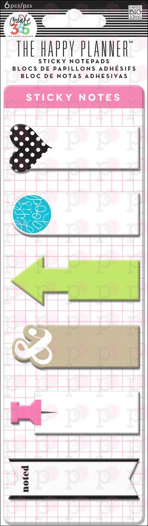 Sticky Notes - Create 365 Happy Planner Accessories